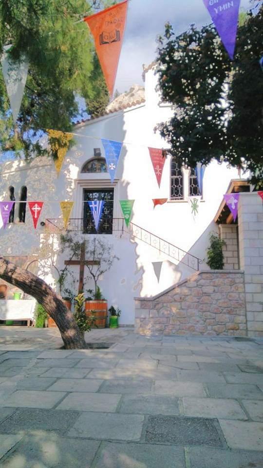 Κυριακή 22 Μαρτίου 2020 Προσκύνημα στους Αγίους Ισιδωρους, Λυκαβηττού